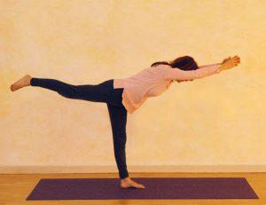 Yogaübung Waage