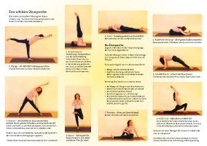 Yoga Übungsreihe