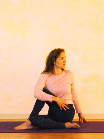 Yoga – Drehsitz
