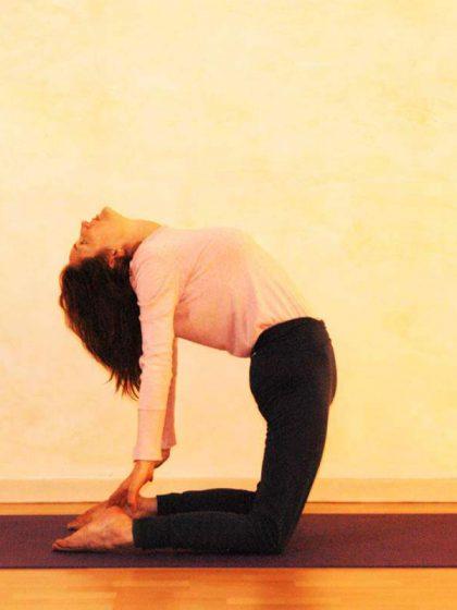 Yogaübung Kamel, Ruhephase