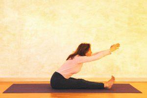 Kopf-Knie-Stellung, Beginn der Bewegung
