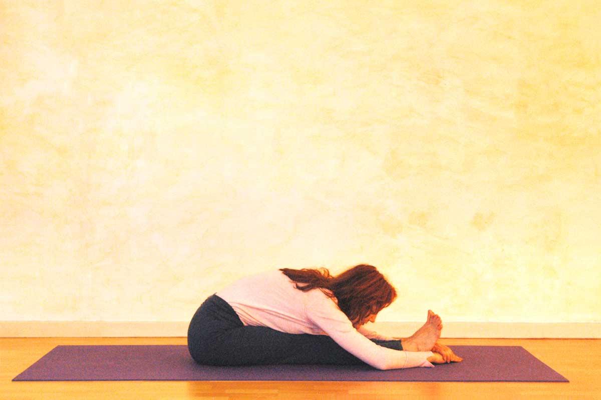 Kopf-Knie-Stellung Ruhephase