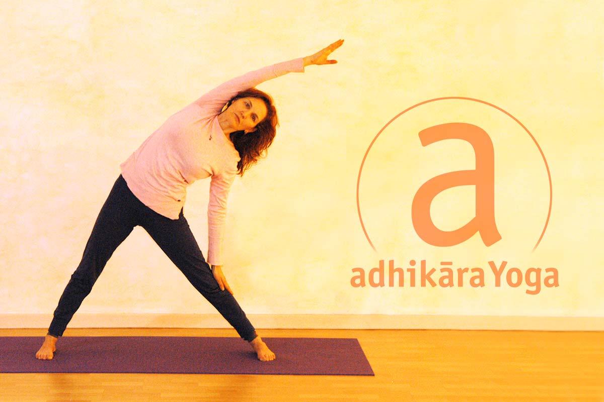 Yogaübung Dreieck